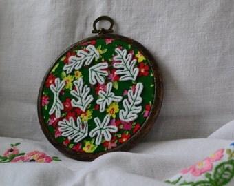 Henri Matisse inspired embroidery hoop