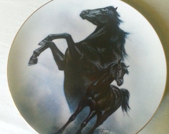 Fred Stone Black Stallion Collector Plate