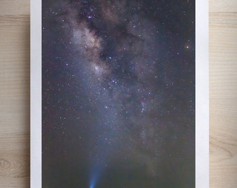 Milky Way Print - Star Print - Night Photography Print - Landscape Photography - Haiti Print