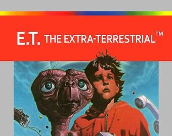 ET Atari Fridge Magnet