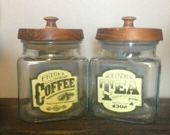 Coffee & Tea Jars