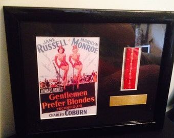 Authentic Marilyn Monroe Film Cells from 1953 from Gentlemen Prefer Blondes