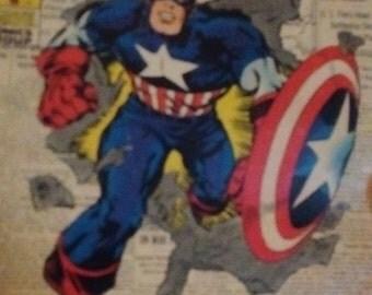 the origin of  captain american 1941 rare