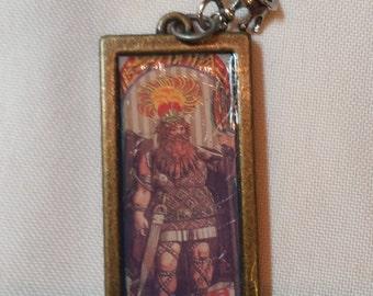 Tarot card pendant