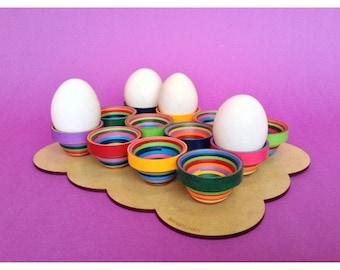 Serpentina Egg Holder