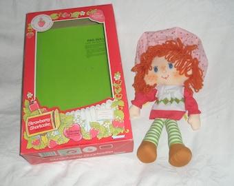 """15"""" Strawberry Shortcake Rag Doll"""