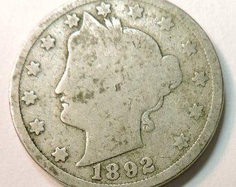 US 1892 Liberty Head Nickel
