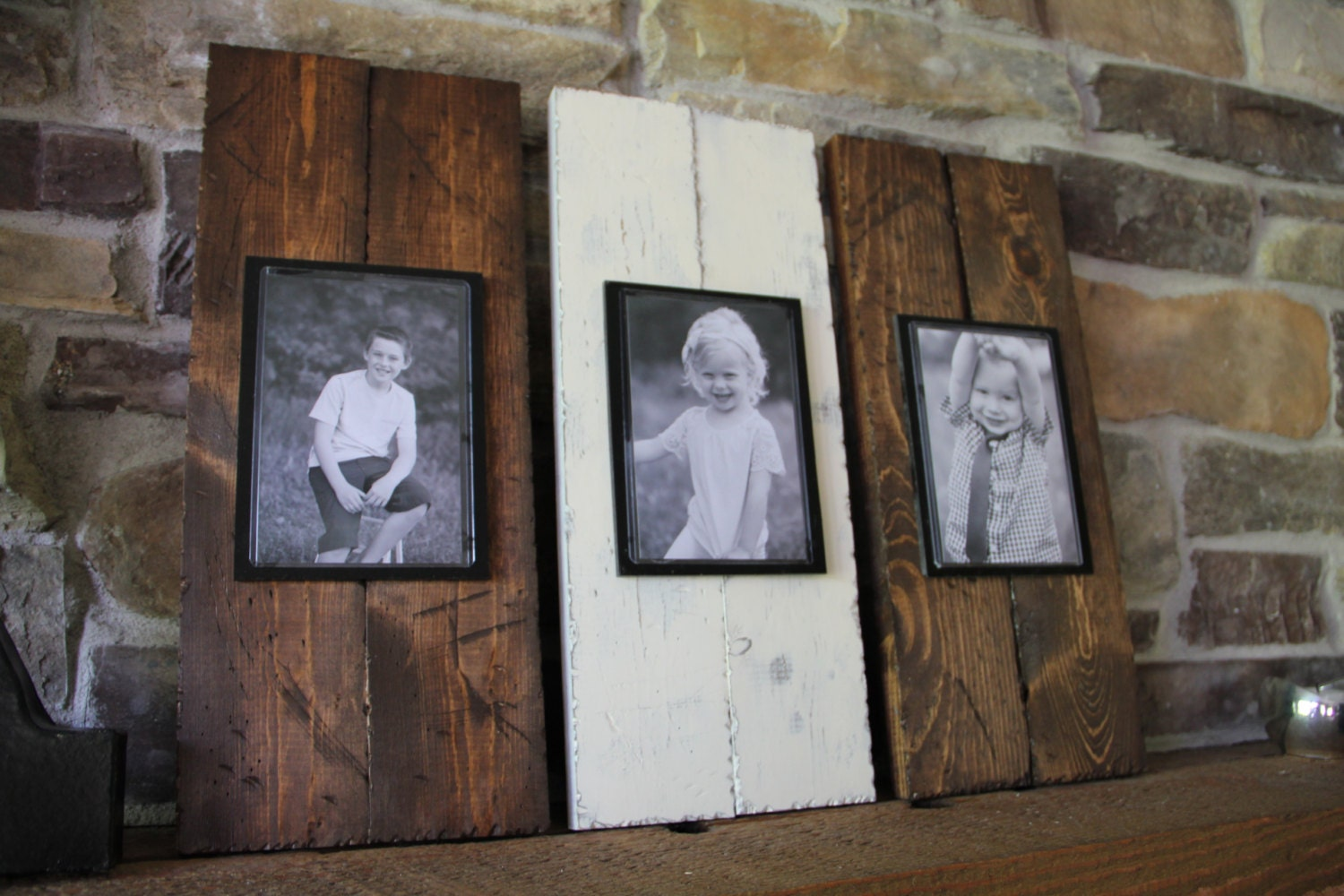 Rustic Picture Frame Set Wood Picture Frame By