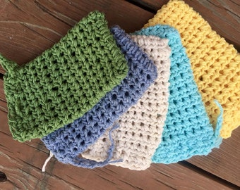 Set of 3 Crocheted Soap Savers