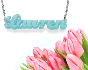 Pop Cursive Necklace
