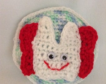 Tooth Fairy's tooth pillow - Crochet Tooth Pouch - Tooth Fairy - Children's Tooth Bag