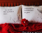 Le Petit Prince - 2 decorative pillowcase