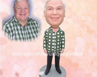 Personalized Mens Gift Husband Christmas Gift Husband Gift Boyfriend Gift Grandfather Gift Christmas Man Custom Bobblehead dolls Uncle Gift