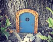 Items similar to fairy door fairy garden wooden fairy for Wooden fairy doors to decorate