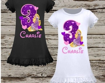 Rapunzel Birthday Dress - Tangled Dress