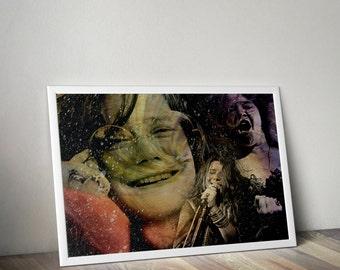 Janis Joplin Tribute  - PRINTED - BUY 2 Get 1 FREE