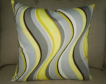 7 Sizes Available - Fluid Curves Pillow Cover