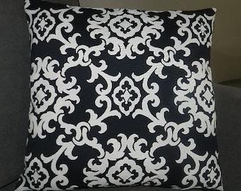 7 Sizes Available - Mill Creek Fabrics / Arvin Tuxedo Lattice  Pillow Cover
