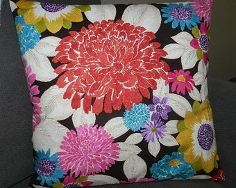 7 Sizes Available - Dear Stella  Magnificent Blooms Pillow Cover