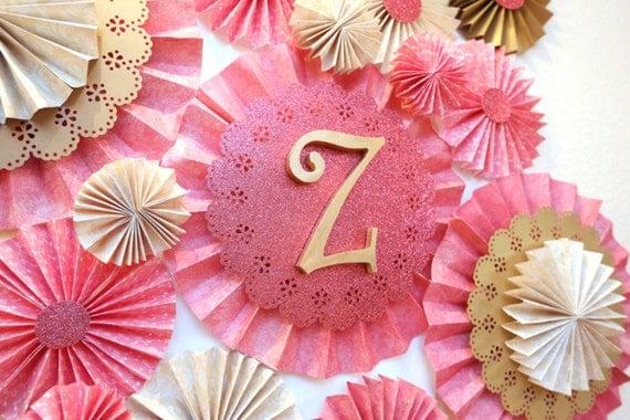 Pink Pinwheel decorating ideas party posh soiree on Etsy