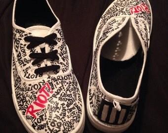 Paramore Riot! Shoes
