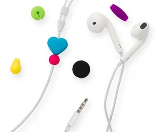 Headphone Identification Beads, Neon collection