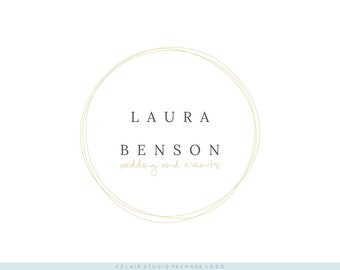 Instant Download Premade Logo - Business Logo, Boutique Logo, Blog Logo, Shop Logo / Laura Benson