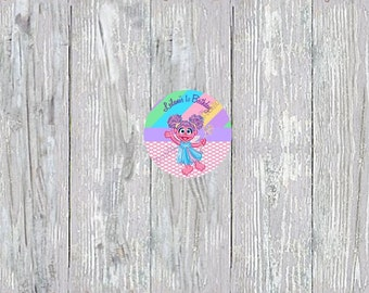 Abby Cadabby Cupcake Topper or Favor Tag