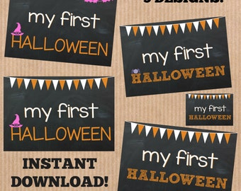 Baby's First Halloween Printables - 5 Printables Included!