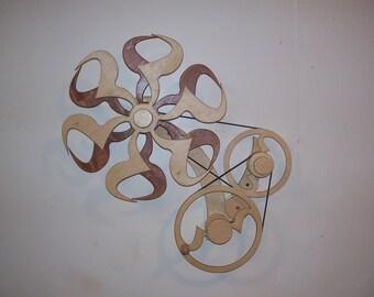 kinetic sculpture---classic modern