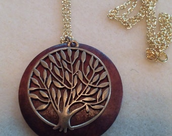 wooden tree of life