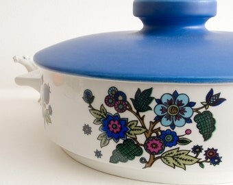 Alpine Blue Midwinter casserole dish