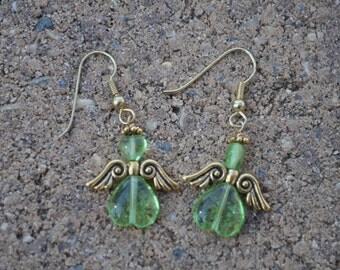 Angel Dangle Earrings
