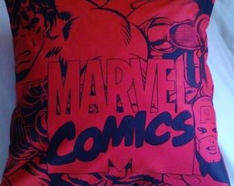 "Marvel Comics Super Hero  cushion cover 16"" x 16"""