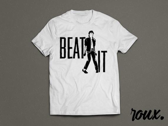Beat It Michael Jackson Tribute Shirt