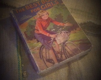 Vintage 1920's The best book for girls