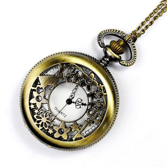 Alice in Wonderland Pocket Watch Necklace Kit