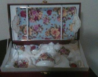 Miniature Children's Tea Set