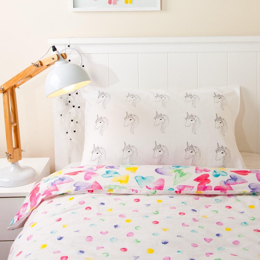 pillowcase unicorn screen printed girls bedroom decor 17 best ideas about unicorn decor on pinterest unicorn