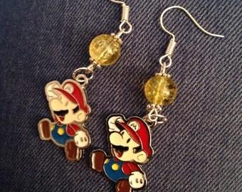 Super Mario Earrings