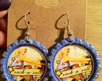 Rocking earrings!