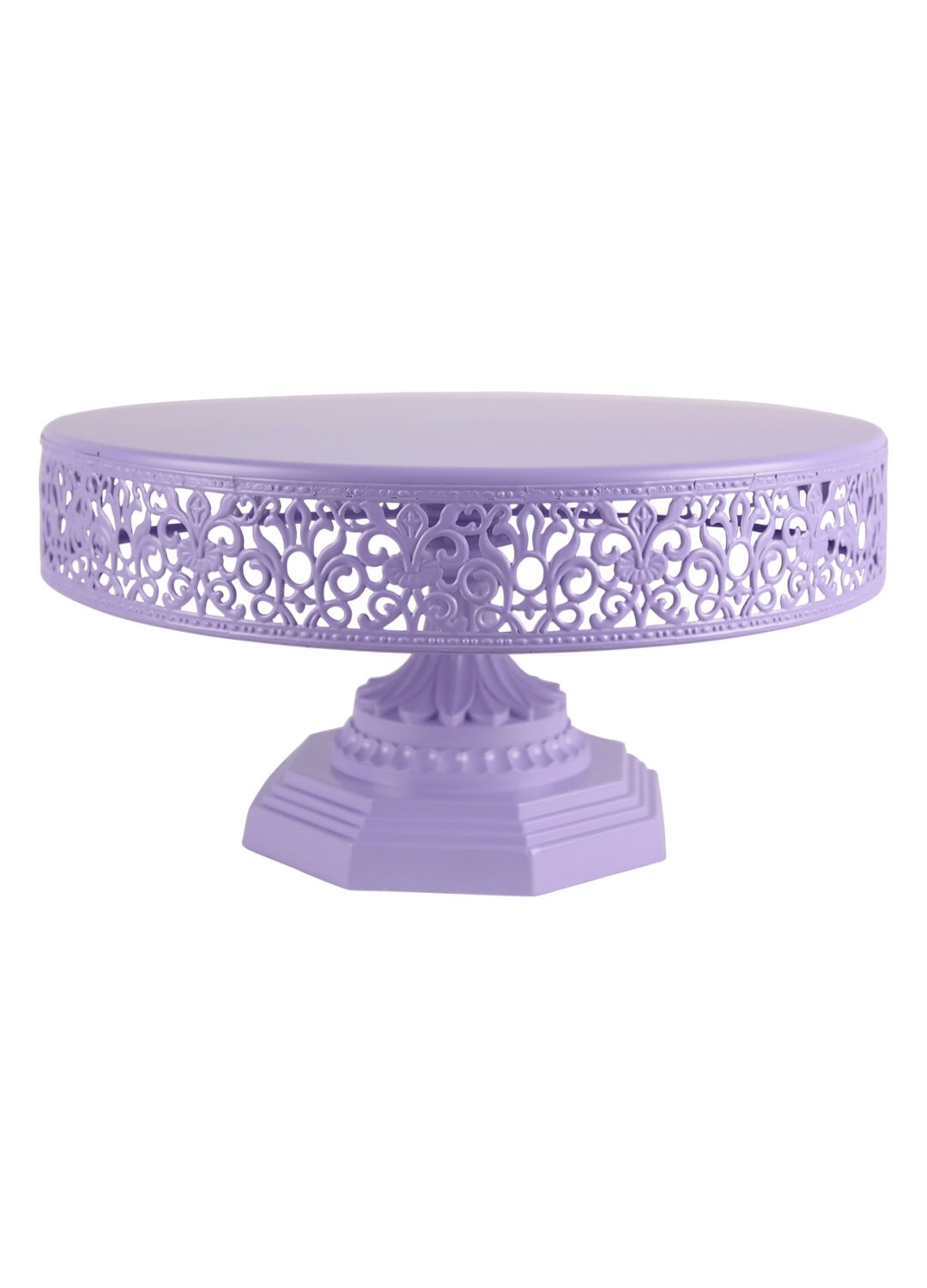 12 inch cake stand purple cake stand 12 inch birthday by 1017