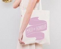 Maid Of Honour Bag   Hen Do Bag