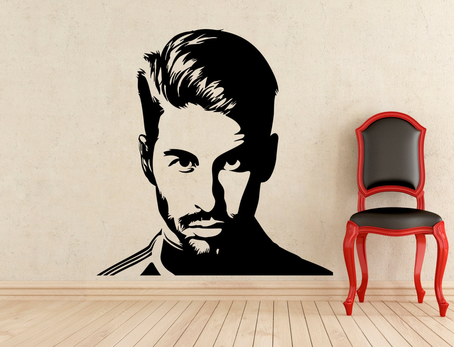 Wallpaper Stickers For Walls Sergio Ramos Wall Vinyl Decal Real Madrid Football Sticker