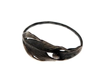 FALCON Ring (Oxidized Silver)
