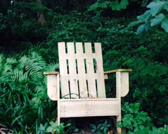 The Woodsman Rustic Adirondak Chair