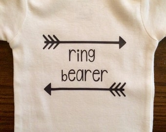 Personalized Ring Bearer Shirt/Onesie
