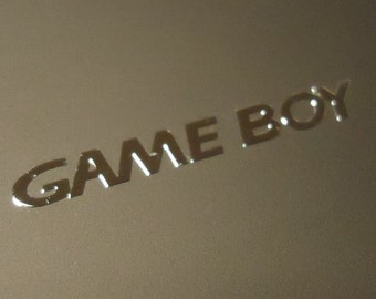 GameBoy Label / Aufkleber / Sticker / Badge / Logo [162]