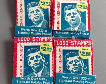 Matchbook (4x) John F. Kennedy