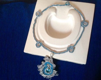 Soutache in acqua marina